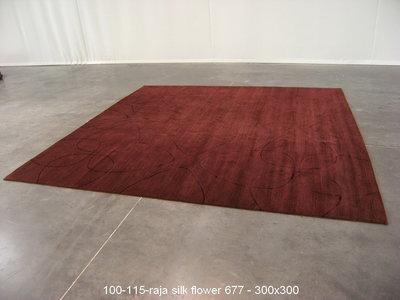 Raja - 677 - Flower - 300x300cm