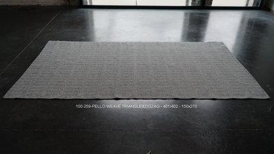 PELLO WEAVE - 401/402 - TRIANGLE&ZIGZAG - 150x270cm