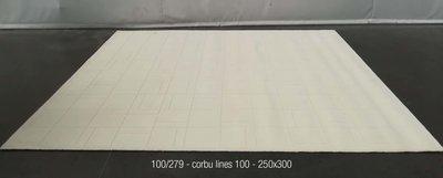 Corbu Lines - 100 - 250x300cm